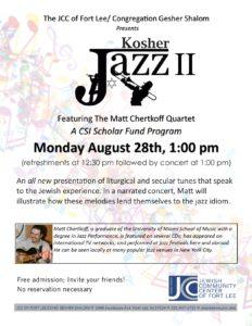 Kosher jazz 2