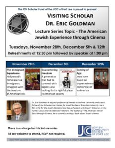 SIR Goldman Lecture Series 2