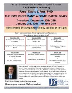 SIR Lecture Series Fine december jan 18-19