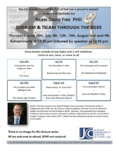 SIR Lecture Series Fine june july 18