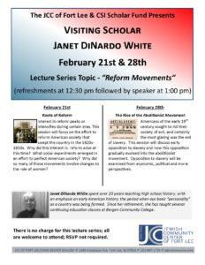 SIR lecture series Dinardo Feb 19
