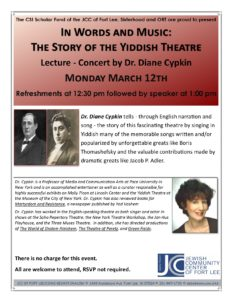 yiddish song lecture march 2018